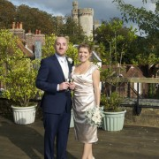 Sue and Jon at Arundel Town Hall